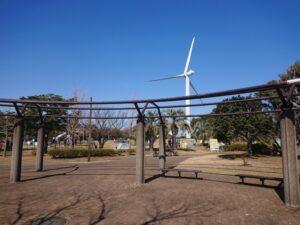 新木場の公園