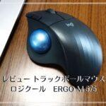 【めちゃ快適】トラックボールマウス「ロジクールERGO M575」買った理由